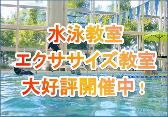 水泳教室第好評