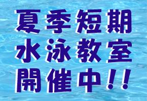 【アイキャ】2019夏季短期水泳教室